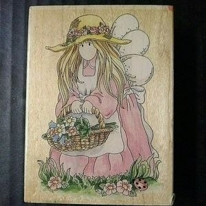 Stamps Happen Rubber Stamp Petunia Garden Fairy